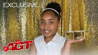 Victory Brinker Reacts to Her Historic AGT Moment! - America's Got Talent 2021
