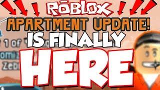 A ATUALIZAÇÃO DO APARTAMENTO ESTÁ FINALMENTE AQUI!?! /Jailbreak Roblox/Defildplays