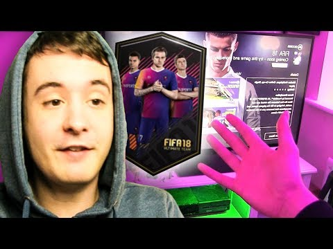 MY FIRST FIFA 18 PACK OPENING ON THE WEB APP!!