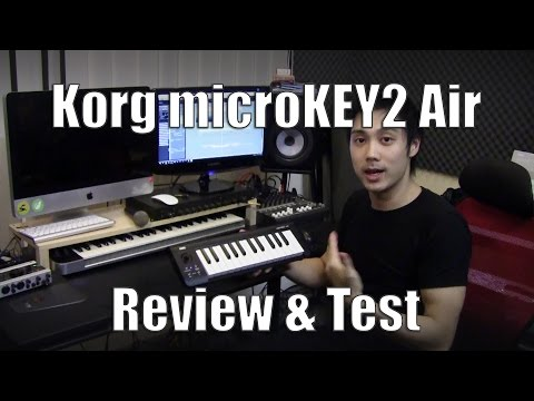 Korg microKEY2 Air Review - Playing music without cables