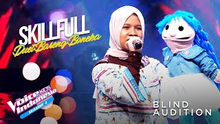 Nafisa Pua Geno - Dance Monkey | Blind Auditions | The Voice Kids Indonesia Season 4 GTV 2021
