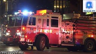 [Full House Response] FDNY Engine 3 + Ladder 12 + Battalion 7