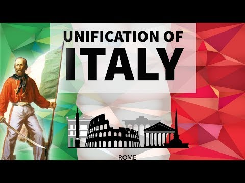 Unification of Italy - World History for UPSC / IAS / PCS / CDS