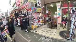 Harajuku in Tokyo, Japan - Walkaround - 4K Japan (Ultra HD)
