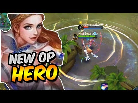 NEW HERO ODETTE FIRST GAMEPLAY! SHE IS AMAZING! MOBILE LEGENDS