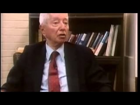 Hyman G. Rickover, 'father' of the US nuclear navy (1984 interview).