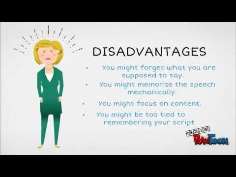 Memorized Speech - YouTube