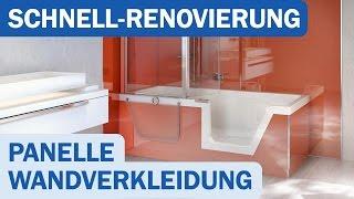 Panelle Von Duscholux Als Alternative Zu Neuen Fliesen Shk Tv Reportage Youtube