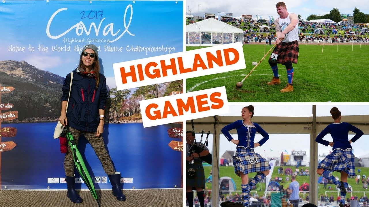 Scottish Highland Games in Dunoon, Scotland (2017 Cowal