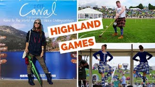Scottish Highland Games in Dunoon, Scotland (2017 Cowal Highland Gathering)