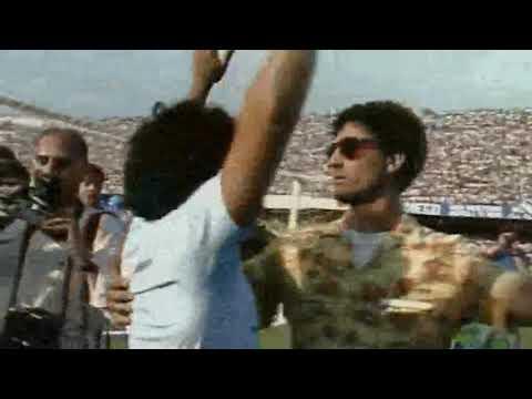 Diego Maradona - Arrival of Maradona at Napoli, San Paolo, 5th July 1984