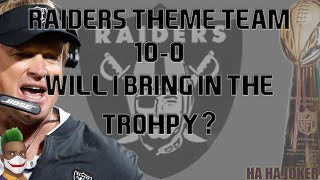 madden 20 Oakland raiders undefeated season but is it enough to win the toughest game