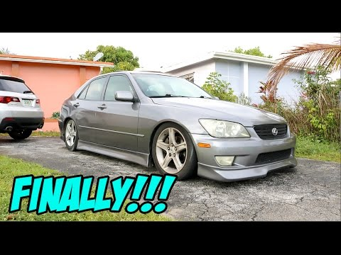 MY IS300 FINALLY GETS PAINTED!!!! - #PROJECT300