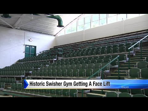 JU gives Swisher Gym a face  lift