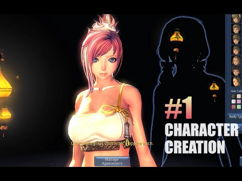 Blade & Soul Gameplay #1: Character Creation/Customization
