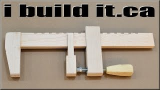 Make A Wooden Bar Clamp