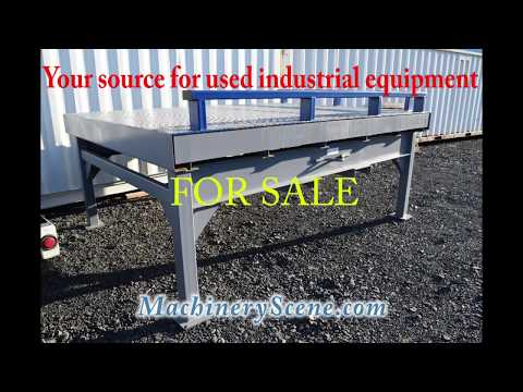 For Sale: Bluff Steel Portable Loading Platform, never used