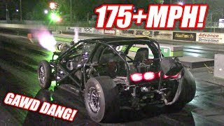 Leroy Makes an INSANE 175+mph Pass! Our NEW Record E/T and MPH! (Freedom Alert)