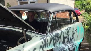 Austin A90 Start up and test George & James.