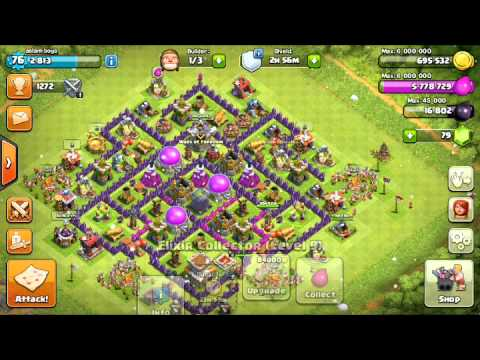 Clash of Clans boost all mine