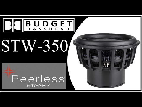 Most Powerful Subwoofer? - Peerless Tymphany STW350F - Part 2 (Ported)