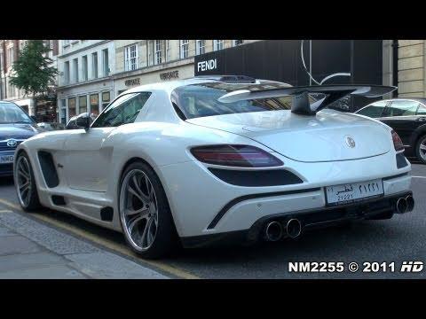 FAB Design Mercedes SLS AMG Loud Accelerations and Revs!