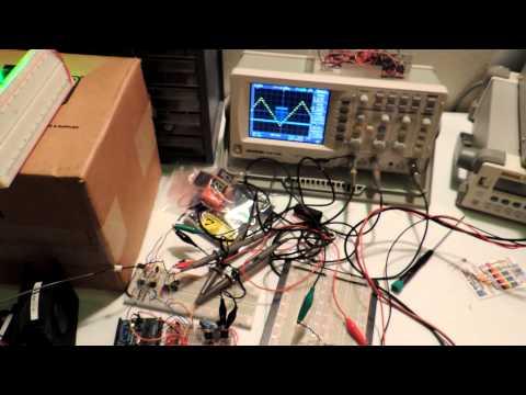 Laser Harp 2.0 Hardware Test