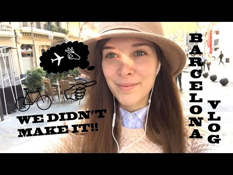 Barcelona Vlog: They wouldn't let me into La Sagrada Familia!! So I went to Arc de Triomf...
