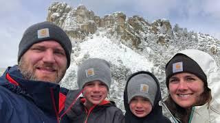 Rapid City Blizzard 2019 | Fulltime RV Family stuck in Blizzard | RV camping in BLIZZARD