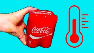Какая Кока Кола ВКУСНЕЙ? проверка по температуре