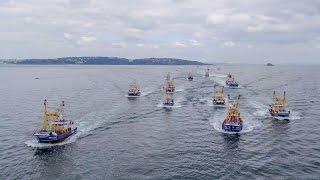 The Brixham Trawler Race 2016