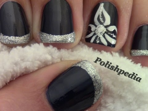 flower nail art elegant tuesday