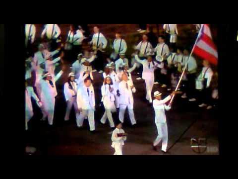 Olympics Games 2012  London Puerto Rico Flag Opening Ceremony Bandera Puerto Rico