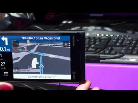 Lumia 900 Nokia Drive hands on demo