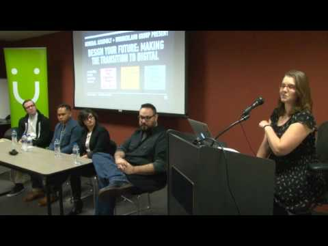 CIDD Meetup: Making the Transition to Digital Design - WunderLand Group & General Assembly - 12/9/15