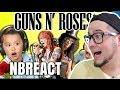CRIANÇAS REAGEM A GUNS N' ROSES - NB REACT