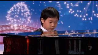 "Shuan Hern Lee ""Flight of the Bumblebee"" Child Piano Prodigy on Australia"