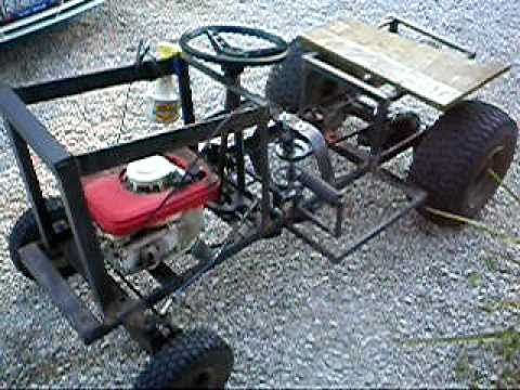 Lawn Mower Racing >> 3.5 hp briggs homemade racing tractor - YouTube