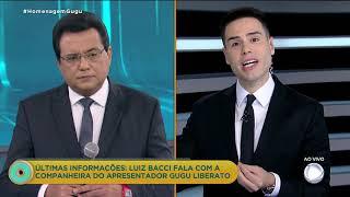 Viúva de Gugu conta a Bacci detalhes da queda do apresentador
