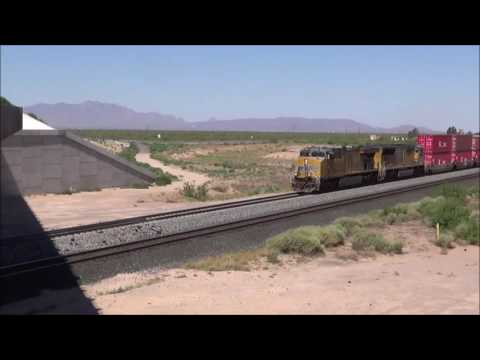 Train Watching on the Union Pacific 7/12/2016