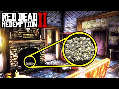 SECRET HIDEOUTS FILLED WITH MONEY STASHES in Red Dead Redemption 2! Easy Money Tips RDR2!