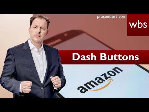 Amazons Dash Buttons verboten? | Rechtsanwalt Christian Solmecke