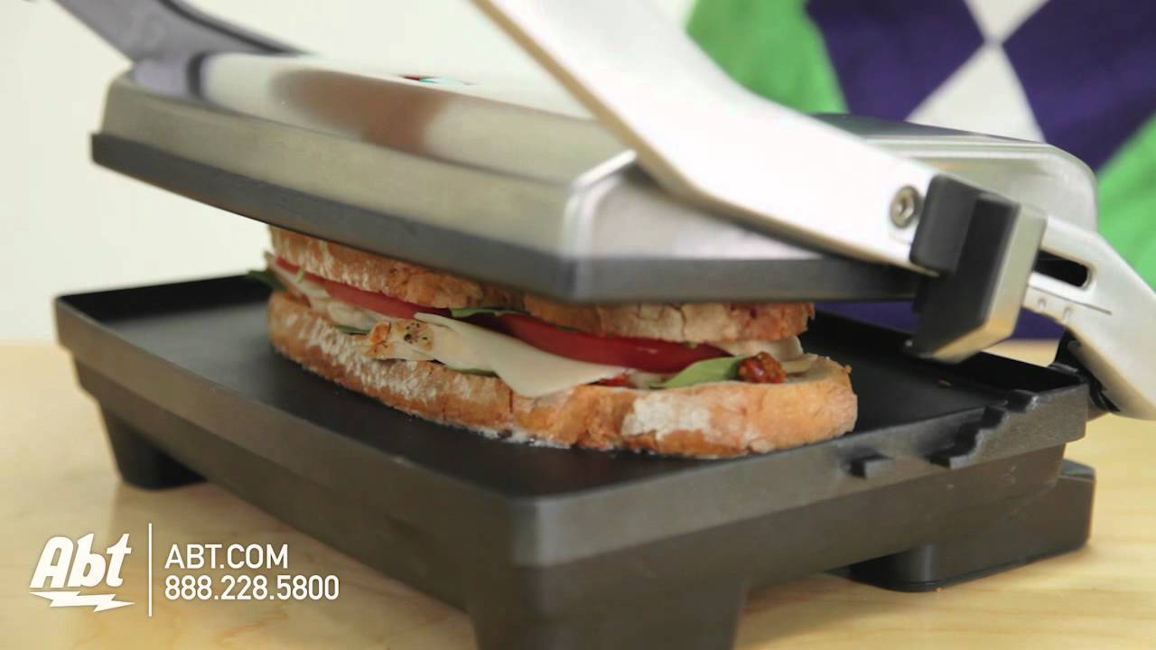 VST025 Breville Sandwich//Panini Press and Toastie Maker Stainless Steel