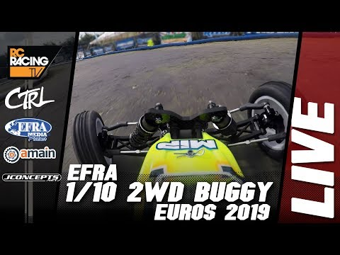 EFRA 1/10th 2WD Off Road Euros - Monday Practice
