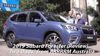 "2019 Subaru Forester SUV 2.5i Premium (""Two Dads"" Review) 