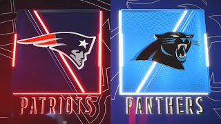 Madden NFL 20 - New England Patriots (Cam Newton) Vs Carolina Panthers (Madden 21 Rosters)