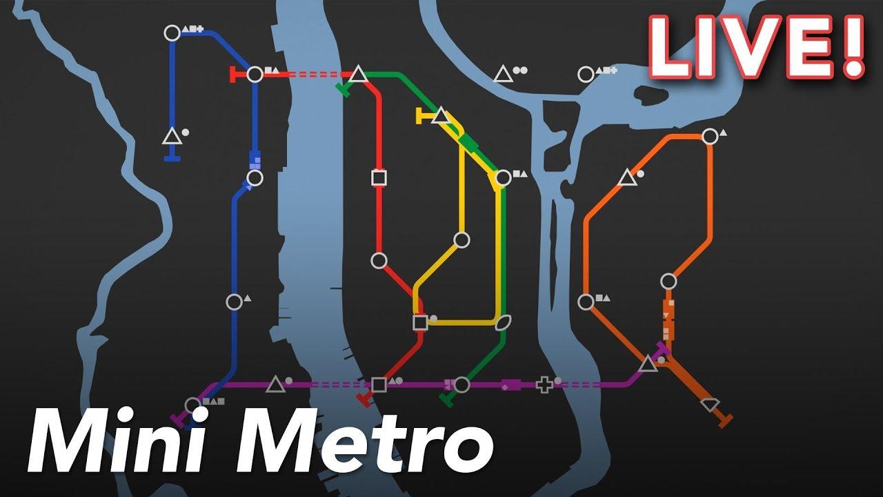 Mini Metro with Paul and Gita   9/10/18