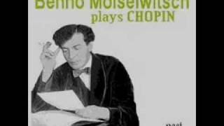 Benno Moiseiwitsch plays Chopin Scherzo No. 1 in B minor Op. 20