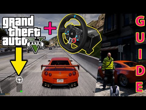 How to setup Steering Wheel on GTA 5 | Manual Transmission 5 | 2021