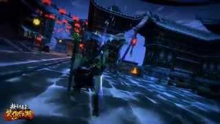 《笑傲江湖Online》全新版本「教主歸來」全新塞外雪鎮場景影片